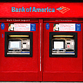 Bank Of America Automated Teller Machine - Painterly - 5d20737 by Wingsdomain Art and Photography