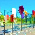 Bankshot Basketball 1 by Lanjee Chee