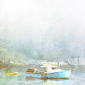 Bar Harbor Maine Foggy Morning by Carol Leigh