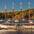 Bar Harbor Schooner by Brian Jannsen