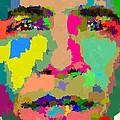 Barack Obama - Abstract 01 by Samuel Majcen