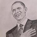 Barack Obama by Artistic Indian Nurse