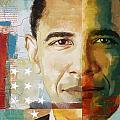 Barack Obama by Corporate Art Task Force