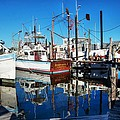 Barb Gail Harbor Corner by Michael Thomas