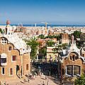 Barcelona Park Guell Antoni Gaudi by Matthias Hauser