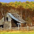 Barn In Fall by Marty Koch