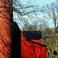 Barn Shadows by Karen Wiles