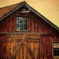 Barn With Weathervane by Jill Battaglia