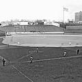 Baseball At Yankee Stadium by Underwood Archives