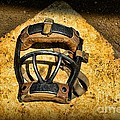Baseball Catchers Mask Vintage  by Paul Ward