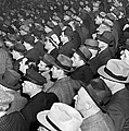 Baseball Fans At Yankee Stadium For The Third Game Of The World by Underwood Archives