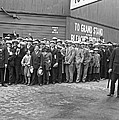 Baseball Fans Waiting In Line To Buy World Series Tickets. by Underwood Archives