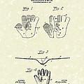 Baseball Glove 1907 Patent Art by Prior Art Design