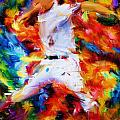 Baseball  I by Lourry Legarde