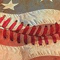 Baseball Is Sewn Into The Fabric by Heidi Smith