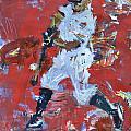 Baseball Painting by Robert Joyner