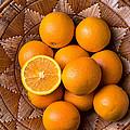 Basket Full Of Oranges by Garry Gay