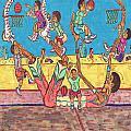 Basketball Daycare by Richard Hockett