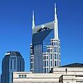 Batman Building And Nashville Skyline by Dan Sproul