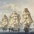 Battle of Trafalgar Print by Robert Dodd