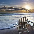 Beach Chairs by Debra and Dave Vanderlaan