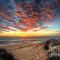 Beachcombers Sunset by English Landscapes