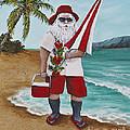Beachen Santa by Darice Machel McGuire