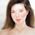 Beautiful Actress Jeananne Goossen by Jim Fitzpatrick