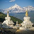 Beautiful Snow Mountain - Meili Xue Shan by James Wheeler