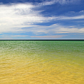 Beautiful St George Island Water by Holden Parker