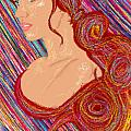 Beauty Of Hair Abstract by Kenal Louis