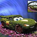 Before And After Sample Art 29 Floral Lightning Mcqueen by Thomas Woolworth