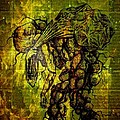 Beings Incapable Of Deep Feelings Of The Human Condition Print by Paulo Zerbato