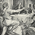 Beowulf Replies Haughtily To Hunferth by John Henry Frederick Bacon