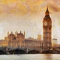 Big Ben At Dusk by Pixel Chimp