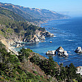 Big Sur Coast Ca by Debra Thompson