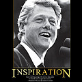 Bill Clinton Inspiration by Retro Images Archive