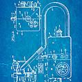 Bird Respirator Patent Art 1962 Blueprint by Ian Monk