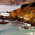 Bixby Bridge Of Big Sur California by Barbara Snyder