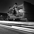 Black And White Light Painting Old City Prime by Dan Sproul