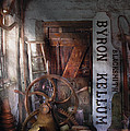 Black Smith - Byron Kellum Blacksmith by Mike Savad