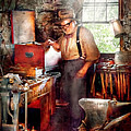 Blacksmith - The Smithy  by Mike Savad