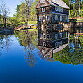 Blow Me Down Mill Cornish New Hampshire by Edward Fielding