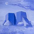 Blue Adobe by Jerry McElroy