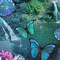 Blue Butterfly Dream by Alixandra Mullins