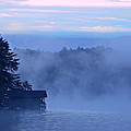 Blue Dawn Mist by Susan Leggett