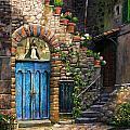 Blue Door by Tim Davis