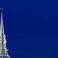 Blue Hour Steeple by Jeff Sinon