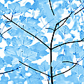 Blue Leaves Melody by Jennie Marie Schell