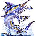 Blue Marlin by Carey Chen